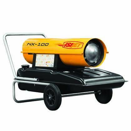 29 KW Troytek-NATY Isıjet NX-100 Bacasız