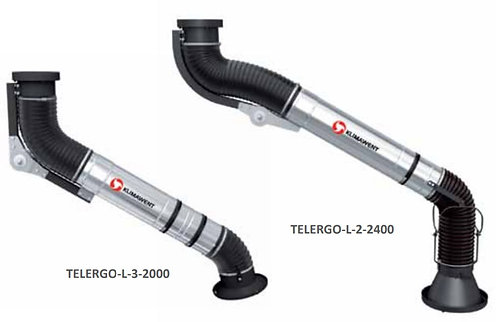 Teleskopik Duman Emis Kolu KLIMAWENT TELERGO