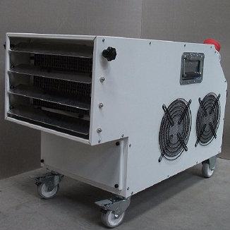 55 KW Elektrikli Fanlı Isıtma Santrali