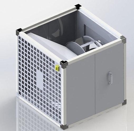 120°C-3500 m3/h Mutfak Davlumbaz Fanı-Ø270mm