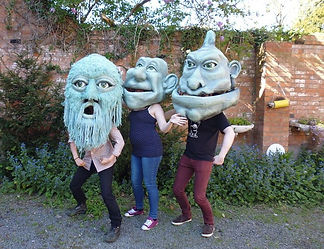 The Fetch Theatre - giant masks