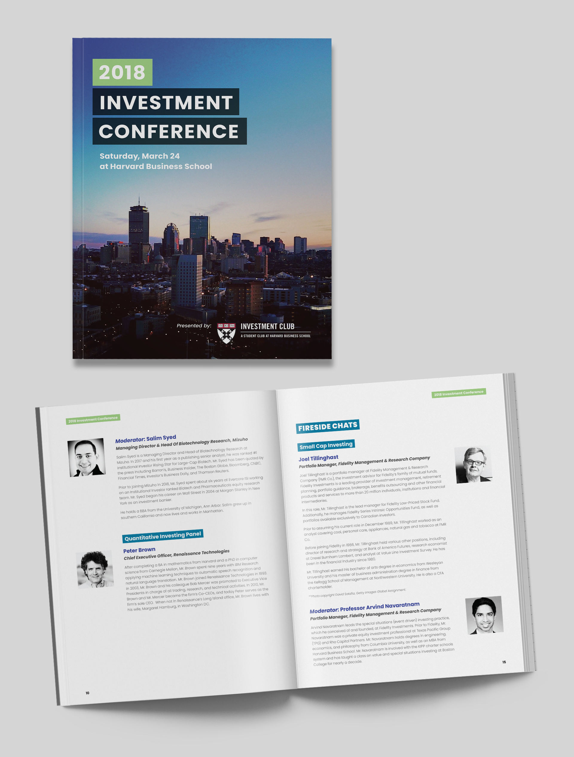 Investment Conference booklet