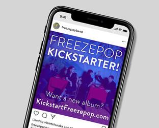 Freezepop: Kickstarter Campaign