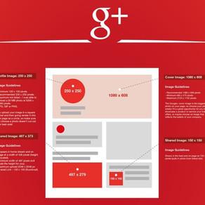 Taille des images sur Google+