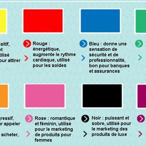 Signification des couleurs en marketing
