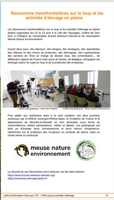 Extrait infoloup 37 page 14 rencontres 2021.PNG