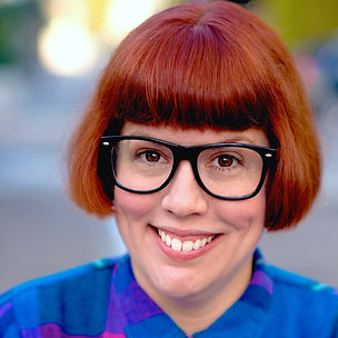 a comedy headshot of Cristy Joy