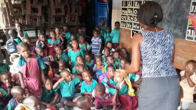 Escuela en Agbogbloshie