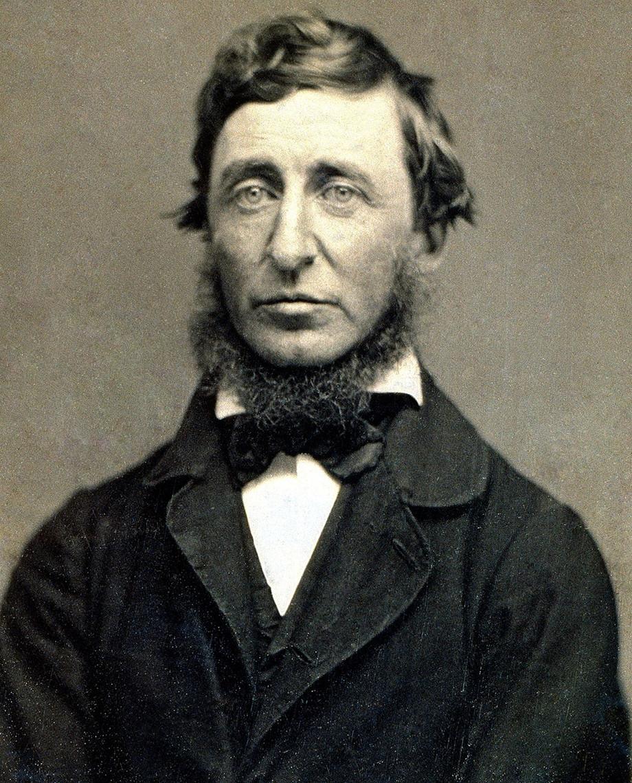 ¿Cómo me identifico con Henry David Thoreau?