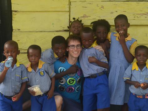 Hola Ghana me dio la oportunidad