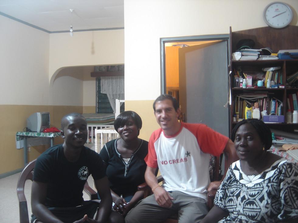 Primer viaje a ÁFRICA