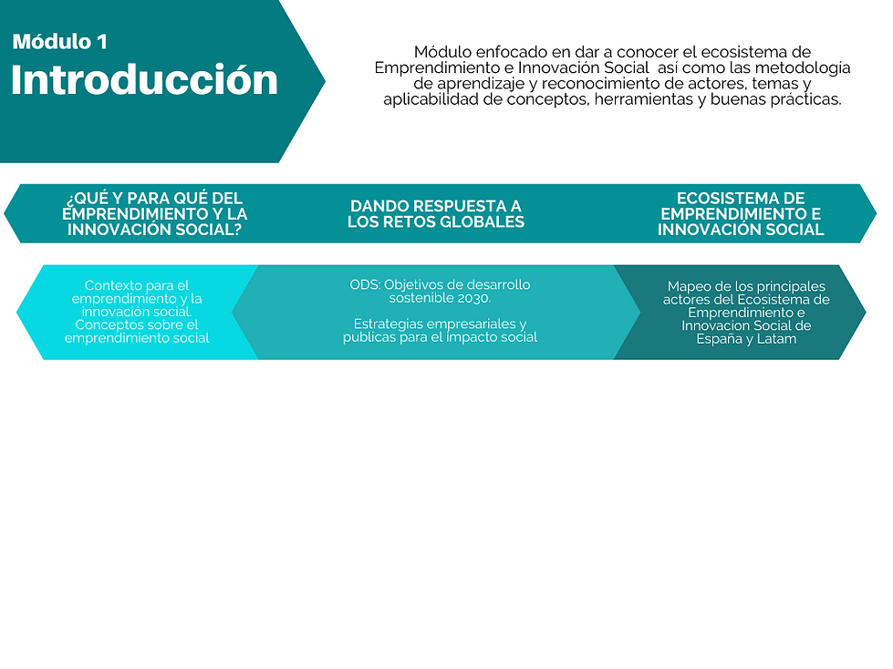 Modulo 1: Introducción The SOCIAL MBA