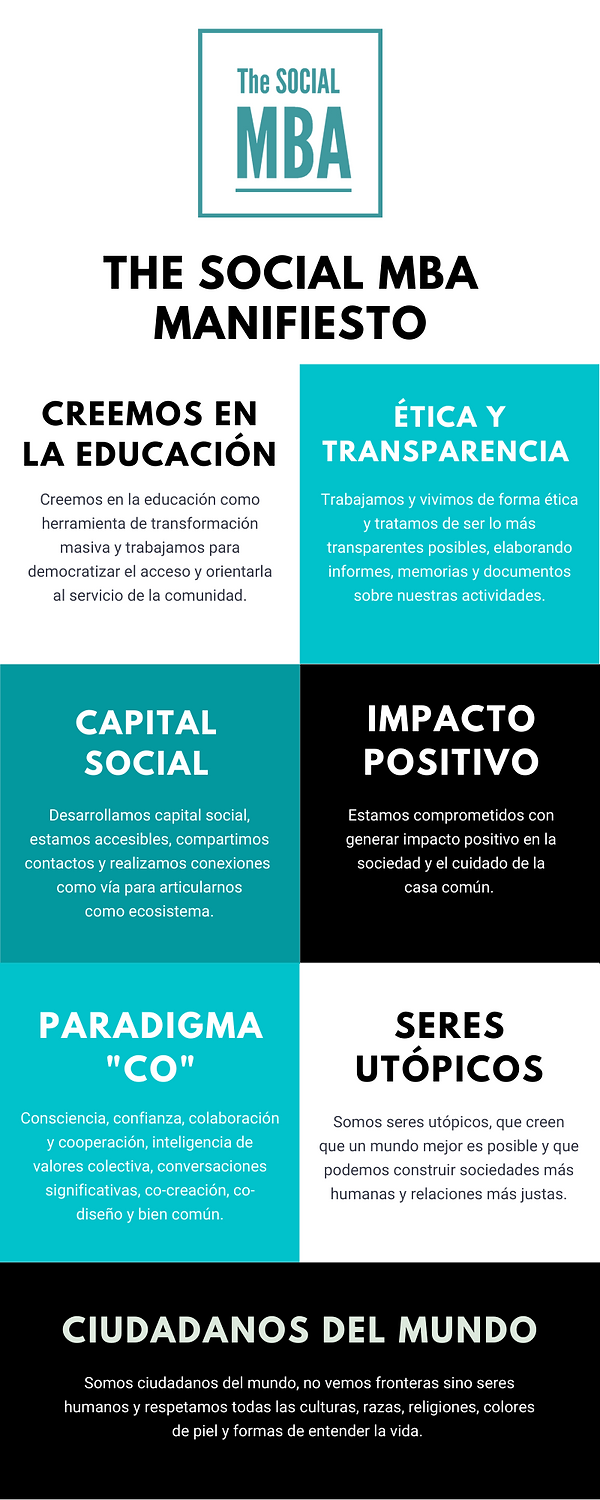 Manifiesto The SOCIAL MBA