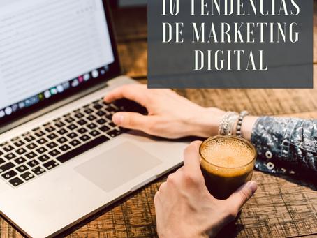 10 Tendências de Marketing Digital