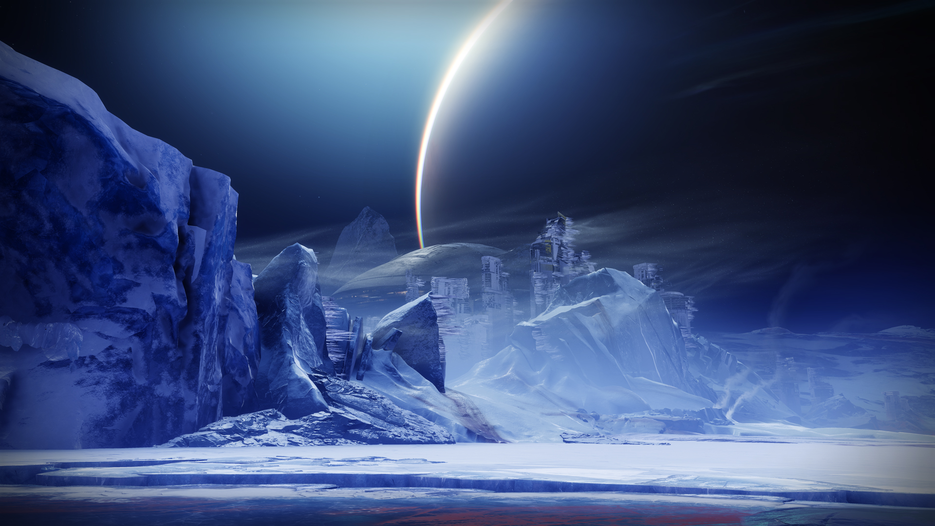 Destiny 2 Beyond Light Europa Environmen