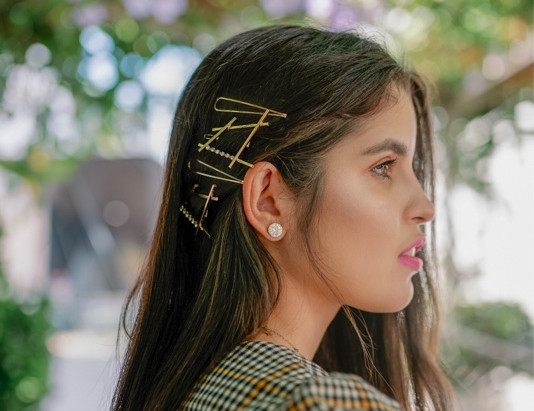 The hair accessories taking over the Gram