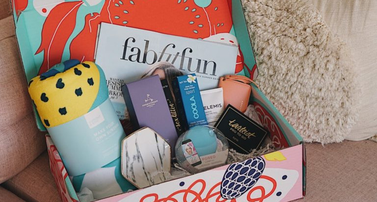 Everything you need for summer in a box