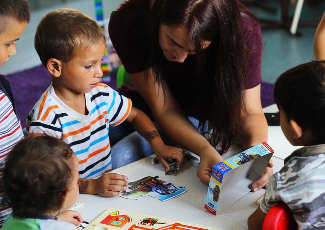 Volunteer education in Romania