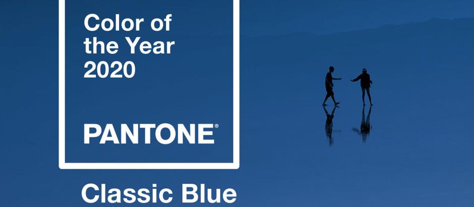 Blog #6. Classic Blue ist die Trend-Farbe des Jahres 2020