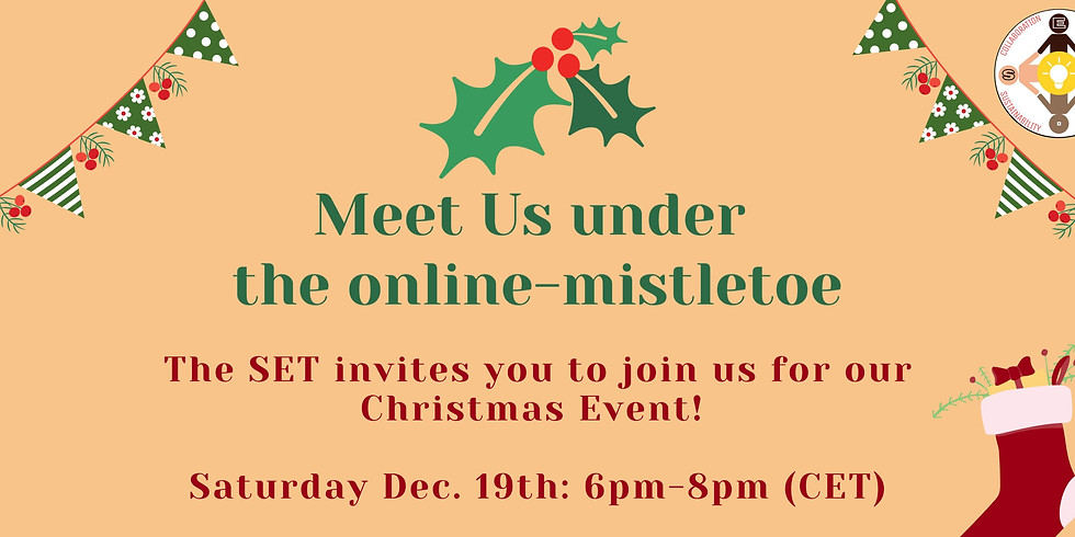 Holiday Cookout: Meet Us under the online-mistletoe