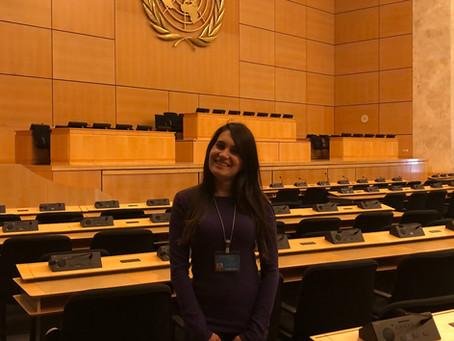 Having clear goals helped new graduate land a UN internship