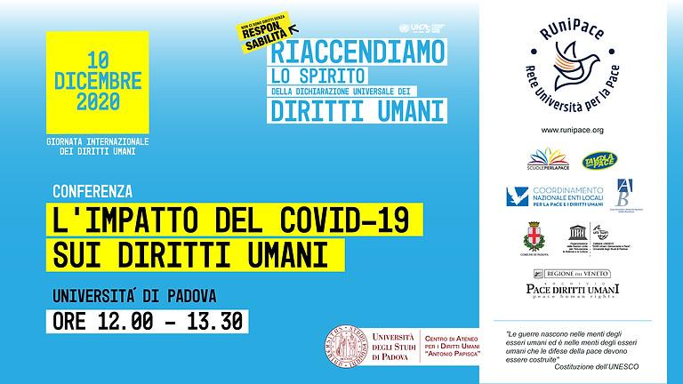 Conferenza nazionale: L'impatto del Covid-19 sui diritti umani