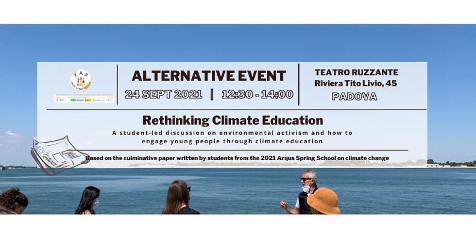 YAF Seminar: Rethinking Climate Education