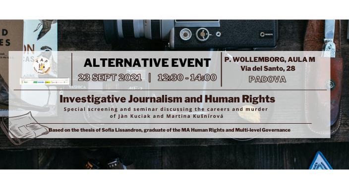 YAF Seminar: Investigative Journalism and Human Rights