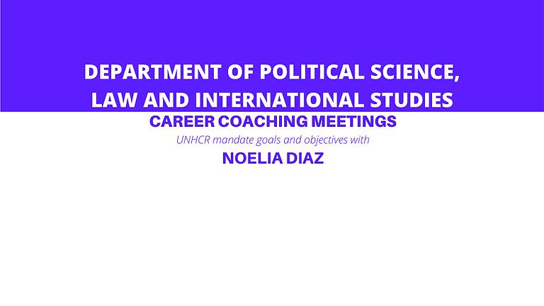 SPGI Career Coaching Meetings with Noelia Diaz