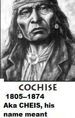 Cochise, the man of Oak