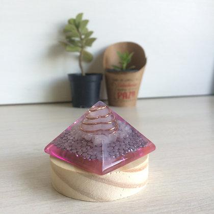 Orgonite Quartzo Rosa