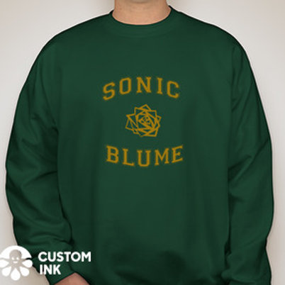 SB Varsity Collegiate Hunter Green Crewneck Sweatshirt