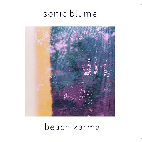 "Sonic Blume's 2nd EP ""Beach Karma"" CD"