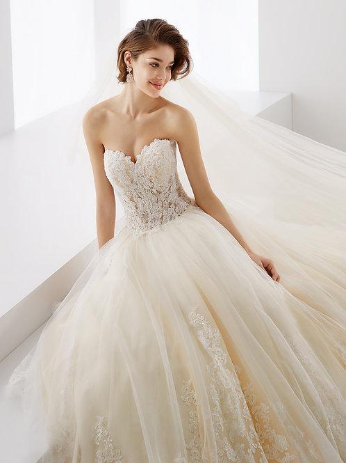 Nicole Spose Wedding Dress JOAB19427 front close view