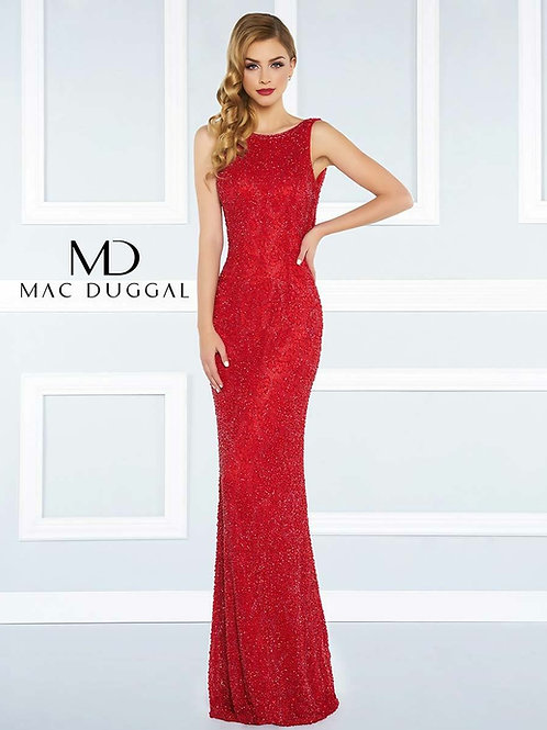 Mac Duggal 4481R Front View