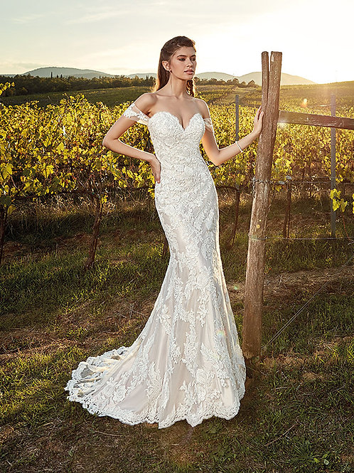 Eddy K Wedding Dress EK1218 front view