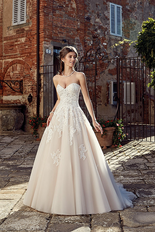 Eddy K Wedding Dress EK1233 front view