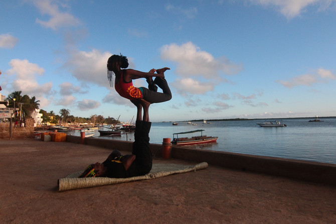 Lamu- You know it's hot when.....