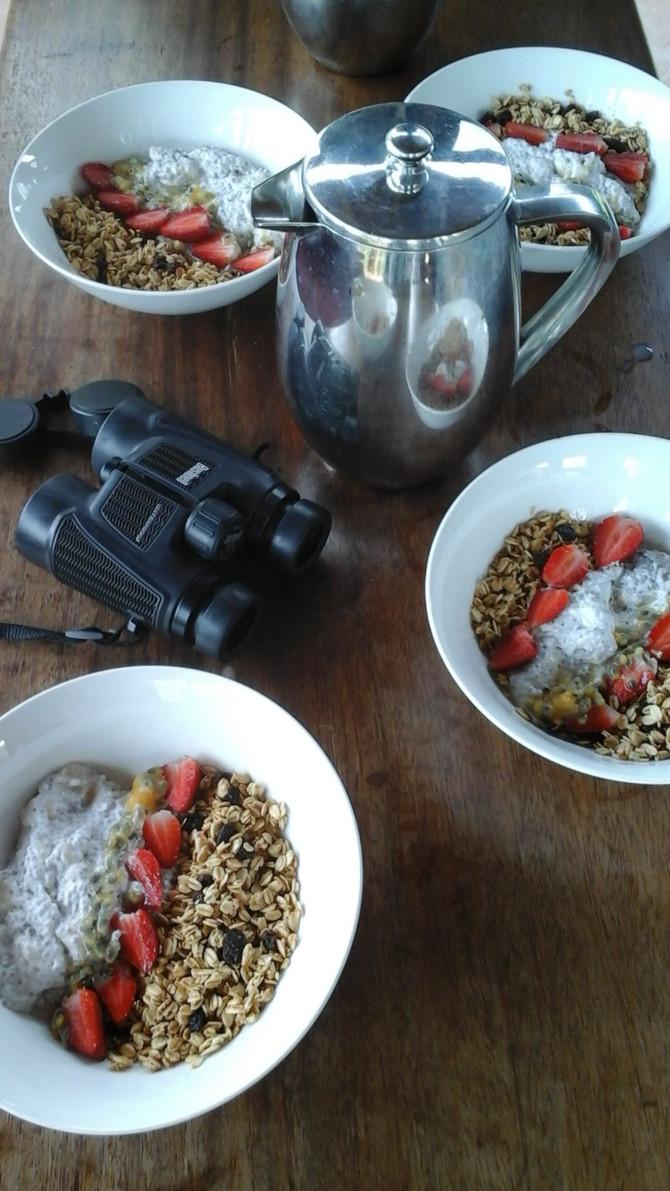 Chia in the morning or desert