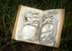 Pony Jungle   Original Book Sculpture by Sarajane