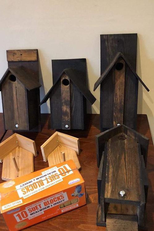 Assorted Bird Houses