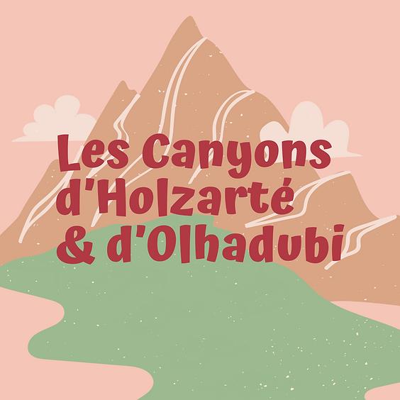 Les Canyons d'Holzarté et d'Olhadubi