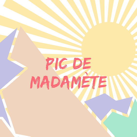 Pic de Madamète