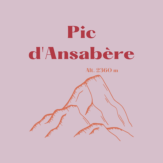 Pic d'Ansabère en vallée d'Aspe