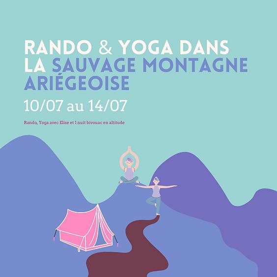 Rando & Yoga dans la sauvage montagne Ariégeoise