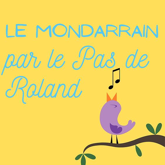 Le Mondarrain par le Pas de Roland