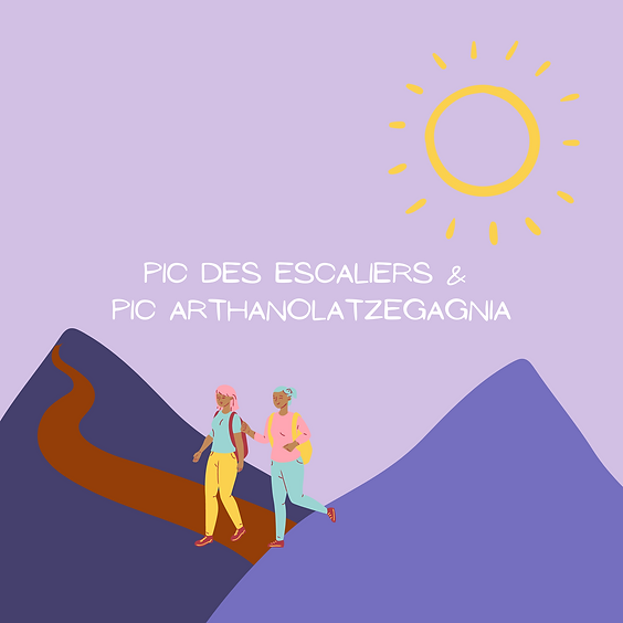 Pic des Escaliers et Pic Arthanolatzegagnia
