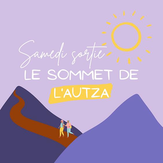 Samedi sortie : le Sommet de l'Autza