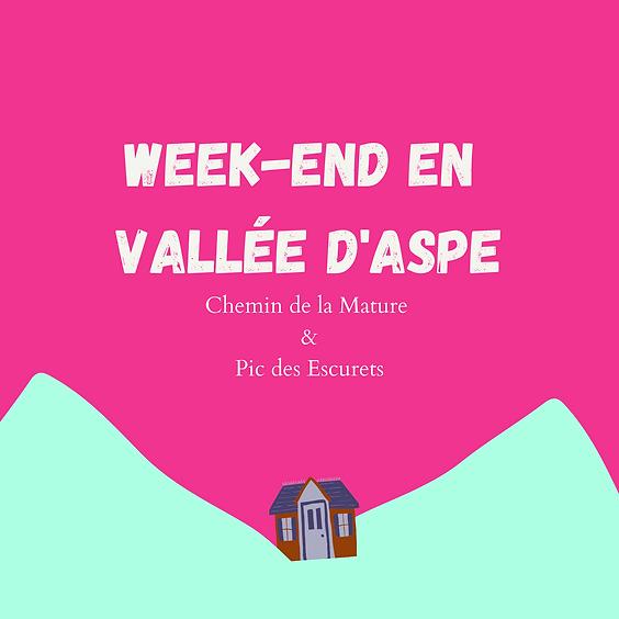 Weekend en Vallée d'Aspe