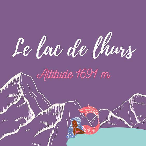Lac de Lhurs 1691m d'altitude